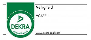 Dekra gecertificeerd VCA veiligheid